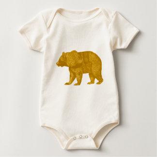 THE GOLDEN ONE BABY BODYSUIT