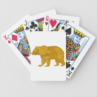 THE GOLDEN ONE BICYCLE PLAYING CARDS