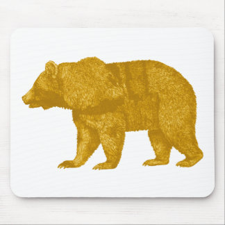 THE GOLDEN ONE MOUSE PAD