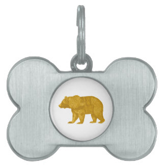 THE GOLDEN ONE PET ID TAG