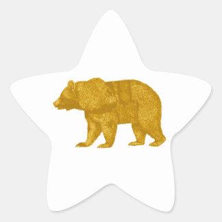 THE GOLDEN ONE STAR STICKER