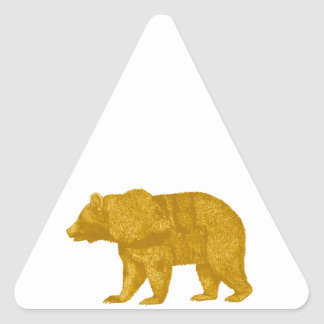 THE GOLDEN ONE TRIANGLE STICKER