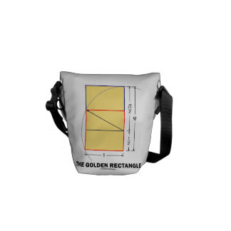 The Golden Rectangle Geometry Math Ratio Courier Bags