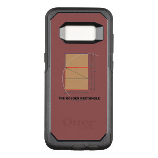 The Golden Rectangle Geometry Math Ratio OtterBox Commuter Samsung Galaxy S8 Case