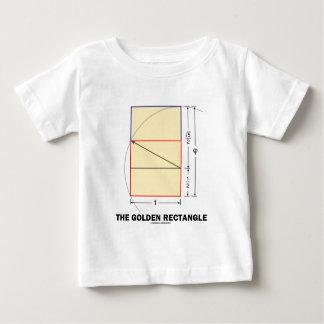 The Golden Rectangle (Mathematical Ratio) Baby T-Shirt