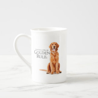 The Golden Rules Bone China Mug