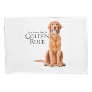 The Golden Rules Pillowcase