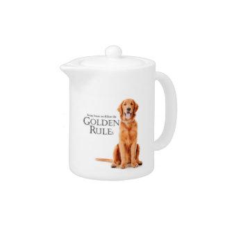 The Golden Rules Teapot