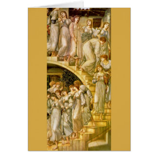 """The Golden Stairs"", by Edward Burne-Jones Card"