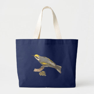 The Golden-winged Warbler(Vermivora chrysoptera) Tote Bags