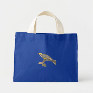 The Golden-winged Warbler	(Vermivora chrysoptera) Tote Bag