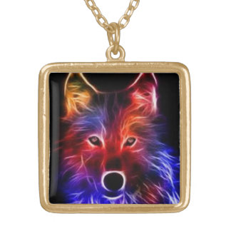 The golden Wolf Gold Plated Necklace
