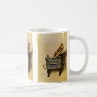 The Goldfinch., Puttertje  By Carel Fabritius Coffee Mug