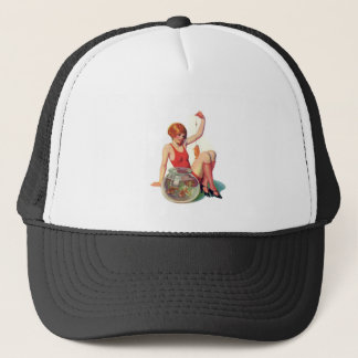The Goldfish Classic Illustration Trucker Hat