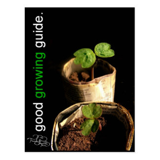 The Good Growing Guide Postcard