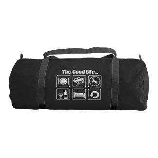 The good life gym duffel bag