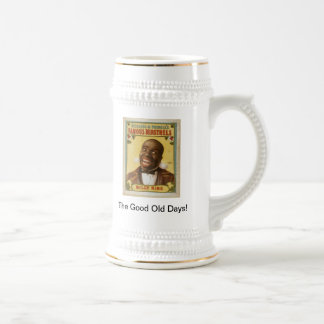 The Good Old Days Beer Stein