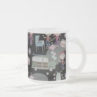 The Good Ole Days Mug Frosted Glass Mug