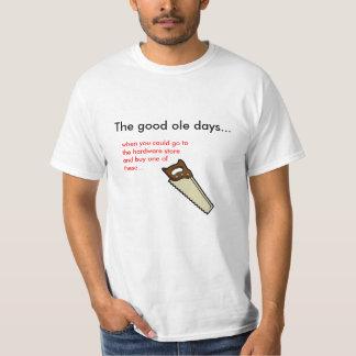 The good ole days... tee shirts