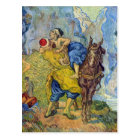 The Good Samaritan by Vincent Willem van Gogh Postcard