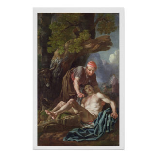 The Good Samaritan, c.1751-52 (oil on canvas) Poster