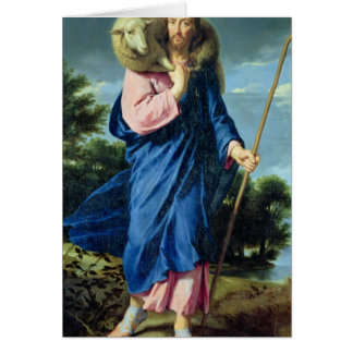 The Good Shepherd, c.1650-60 Card
