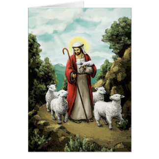 The Good Shepherd Card
