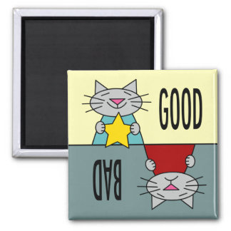 The Good, the Bad, and the Cute Magnet