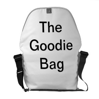 The Goodie Bag by DNatureofDTrain Courier Bags