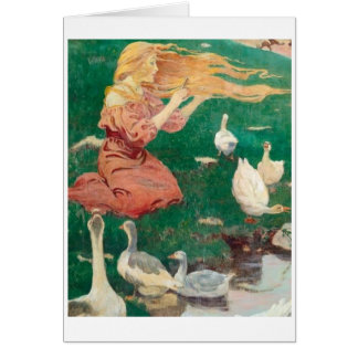 The Goose Girl, Card