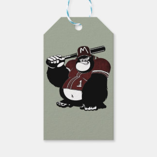 The Gorilla Baseball Club Gift Tags