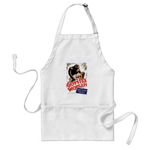 The Gorilla Woman Aprons