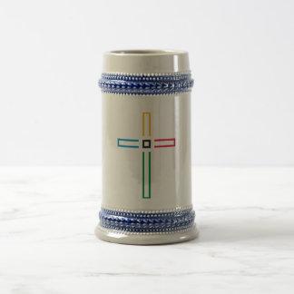 The Gospel Cross Beer Stein
