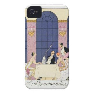 The Gourmands, 1920-30 (pochoir print) iPhone 4 Case-Mate Cases
