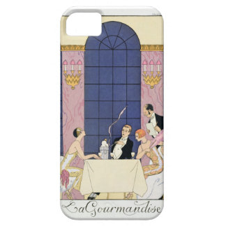 The Gourmands, 1920-30 (pochoir print) Case For The iPhone 5