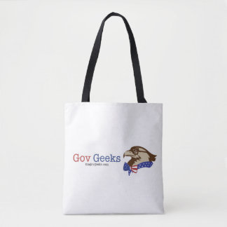 The Gov Geeks tote bag: I choose to serve