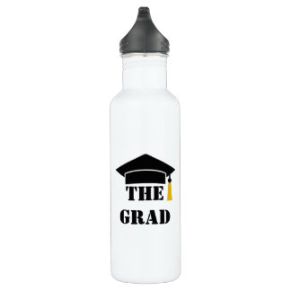 The Grad 20XX Cap and Tassel Customizable 710 Ml Water Bottle