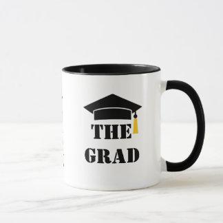 The Grad 20XX Cap and Tassel Customizable Mug