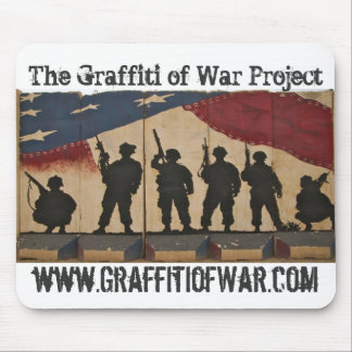 The Graffiti of War Project: Mousepad Series Flag