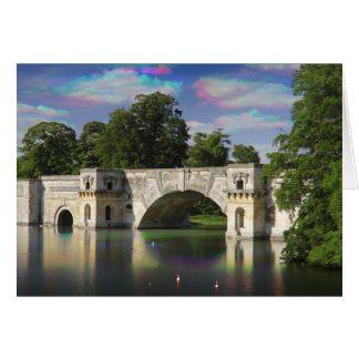 The Grand Bridge Tri Colour, Blenheim Palace Card