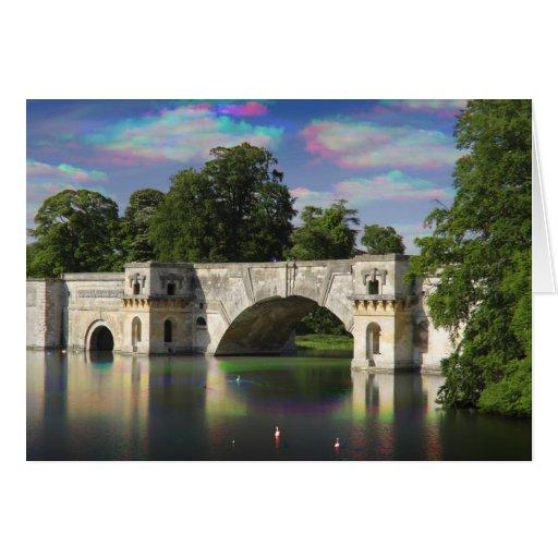 The Grand Bridge Tri Colour, Blenheim Palace Card