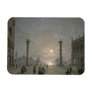 The Grand Canal From Piazza San Marco Magnet