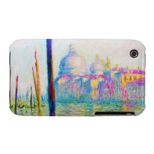 The Grand Canal in Venice Claude Monet iPhone 3 Cover