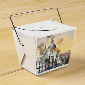 The Grand Canal in Venice Italy Favour Box