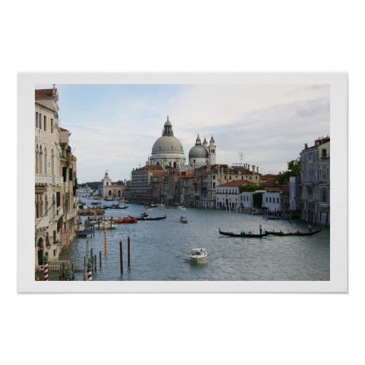 The Grand Canal, Venice Framed Print