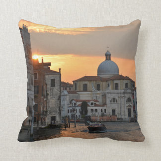 The Grand Canal Venice Pillow