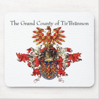 The Grand County of Tir'Brännon Mousepad