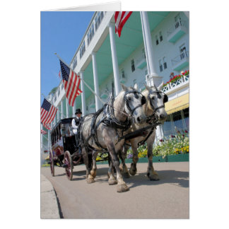 The Grand Hotel - Mackinac Island, Michigan Card