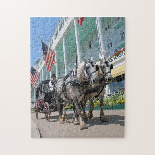 The Grand Hotel - Mackinac Island, Michigan Jigsaw Puzzle