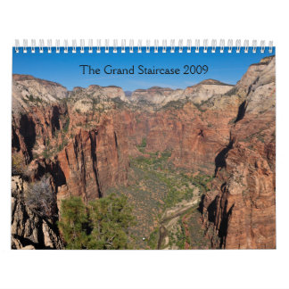 The Grand Staircase 2009 Wall Calendar